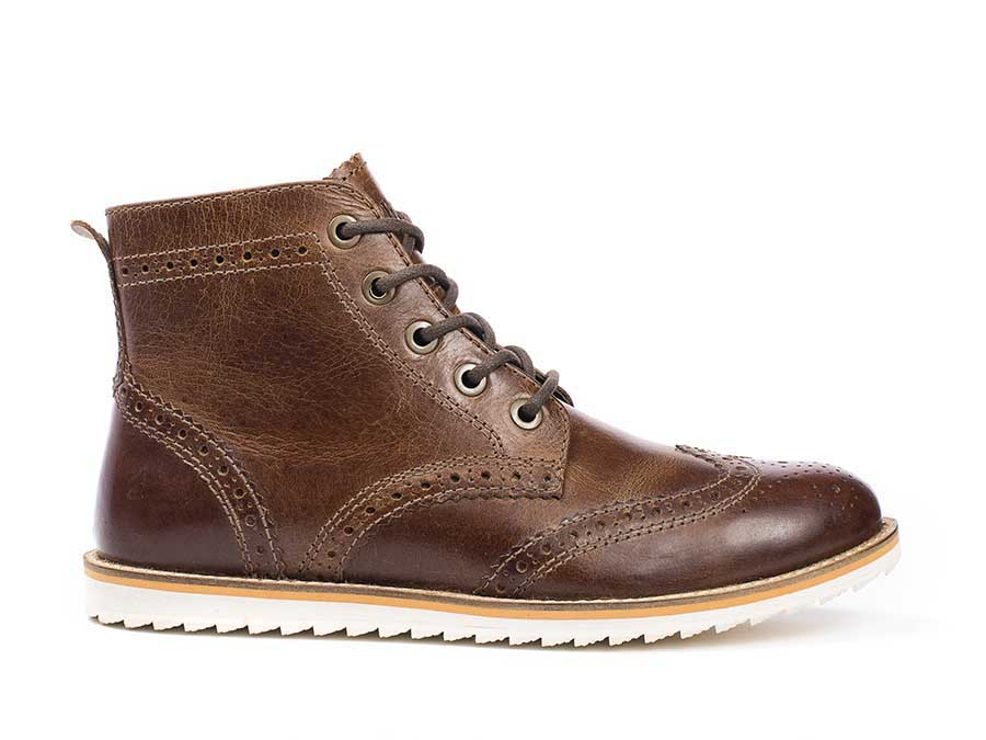 Boardwalk Leather Wingtip Boot Men S Fashion Boot