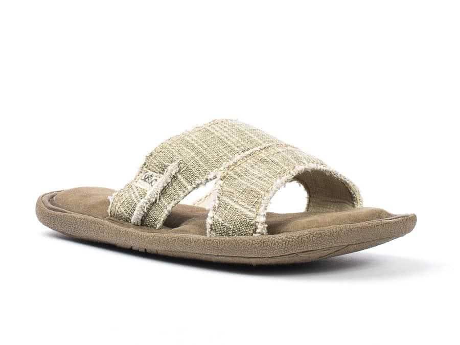 a50a145cafa9 mens canvas baja II slide sandal
