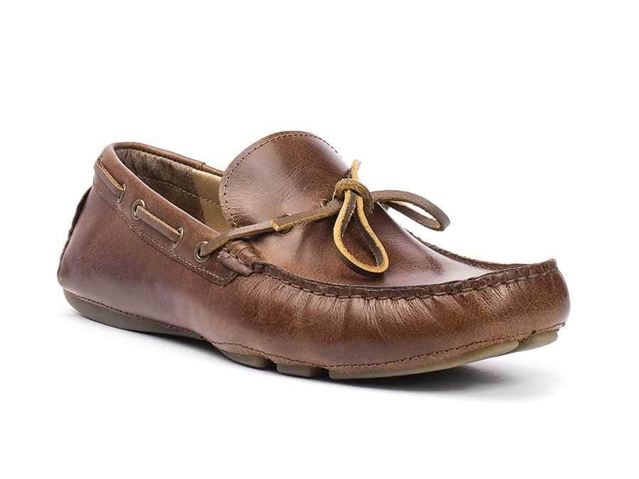 kroozer leather slip on loafer men s casual shoe crevo footwear