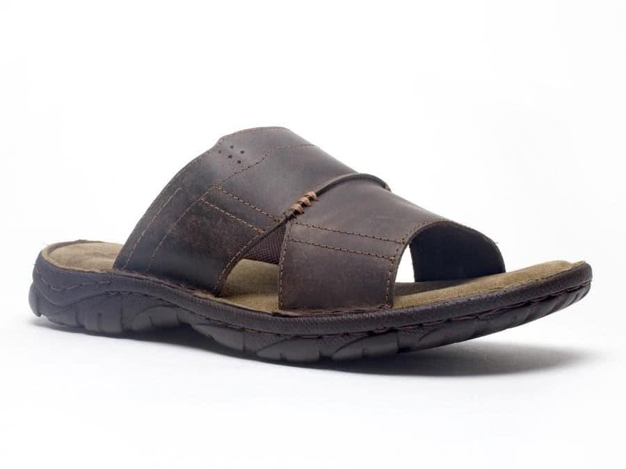 75053a2fa32f mens leather pismo slip on slide sandal